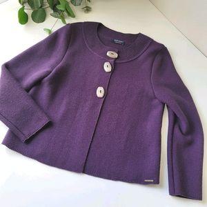 St James Adrets wool cardigan knit sweater